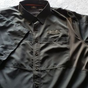 Men's 3XL Harley-Davidson button down shirt